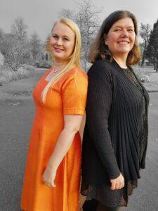 Ingela Tägil och Karin M Nilsson
